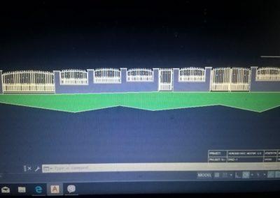 Kovácsoltvas kerítés kapu úszókapu tervezés gyártás kivitelezés lakatos hegesztő pest megye 2