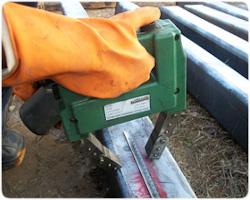 Mágnesezhető poros anyagvizsgálat MT hegesztési varratvizsgálat