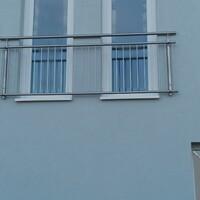 Vác rozsdamentes francia erkélyek